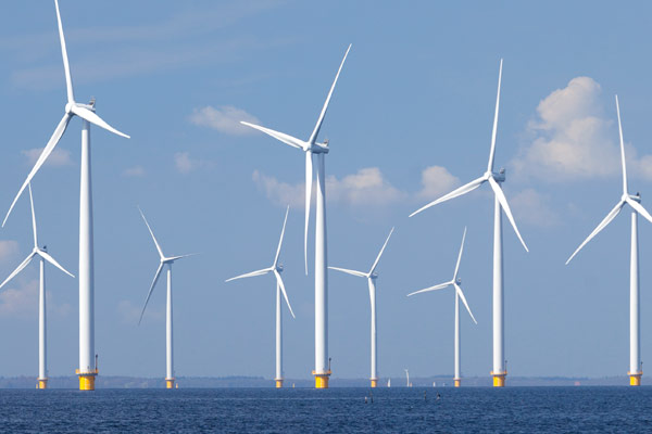 Large bearings for OFFSHORE wind turbines